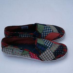 Keds Multi- Color Slip On Sneakers